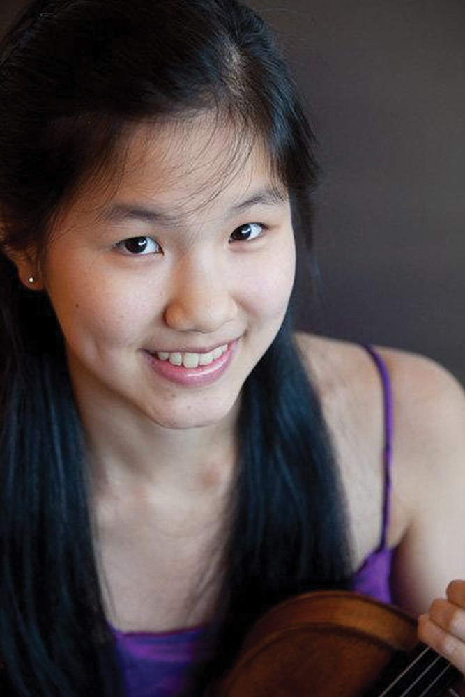 Angela Wee, violinist