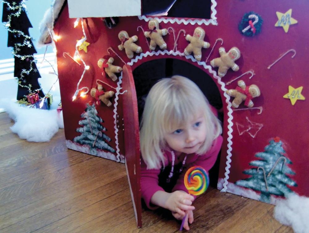 A Visit to Santa's House