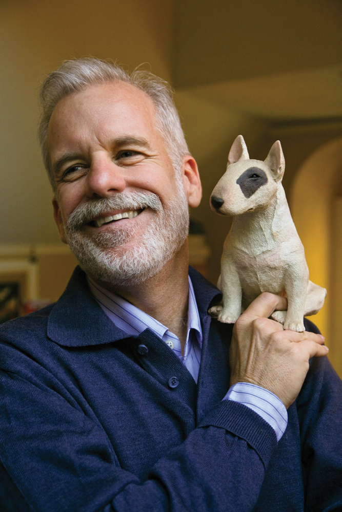 Author Chris Van Allsburg