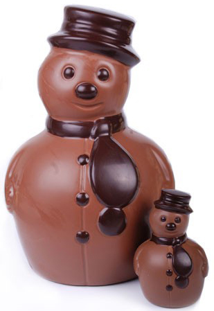 Jacques Torres chocolate snowman