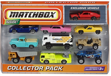 Matchbox cars collector pack