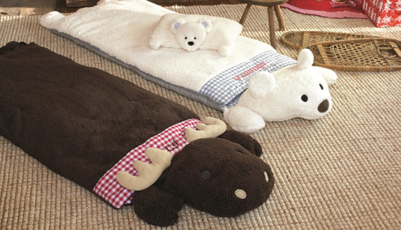 moose and polar bear sleeping bags
