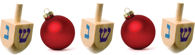Hanukkah and Christmas