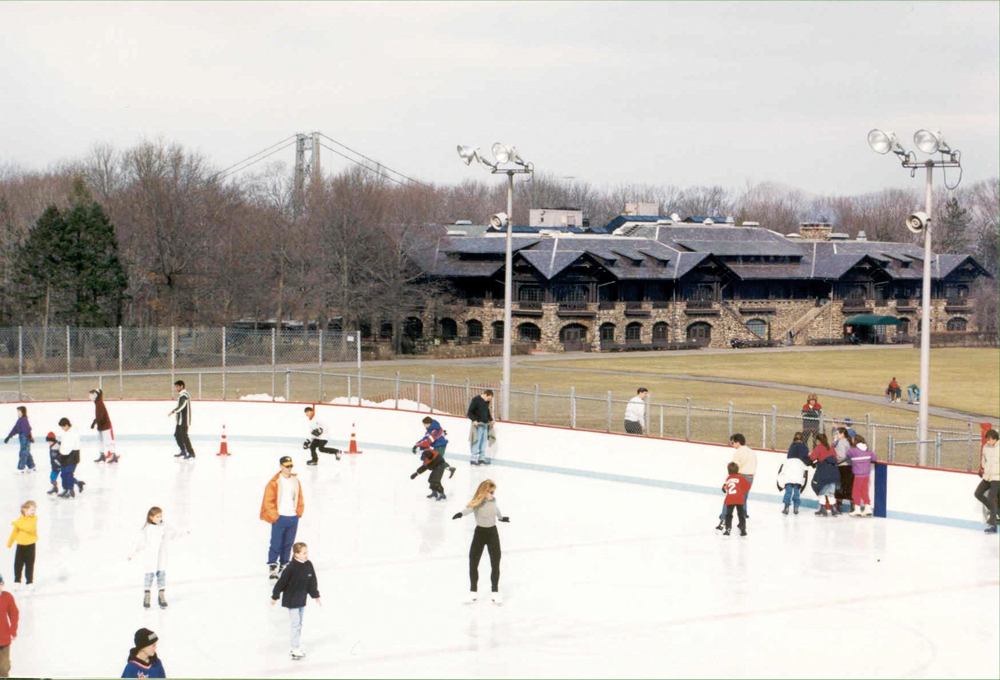 Bear Mountain ice skating rink
