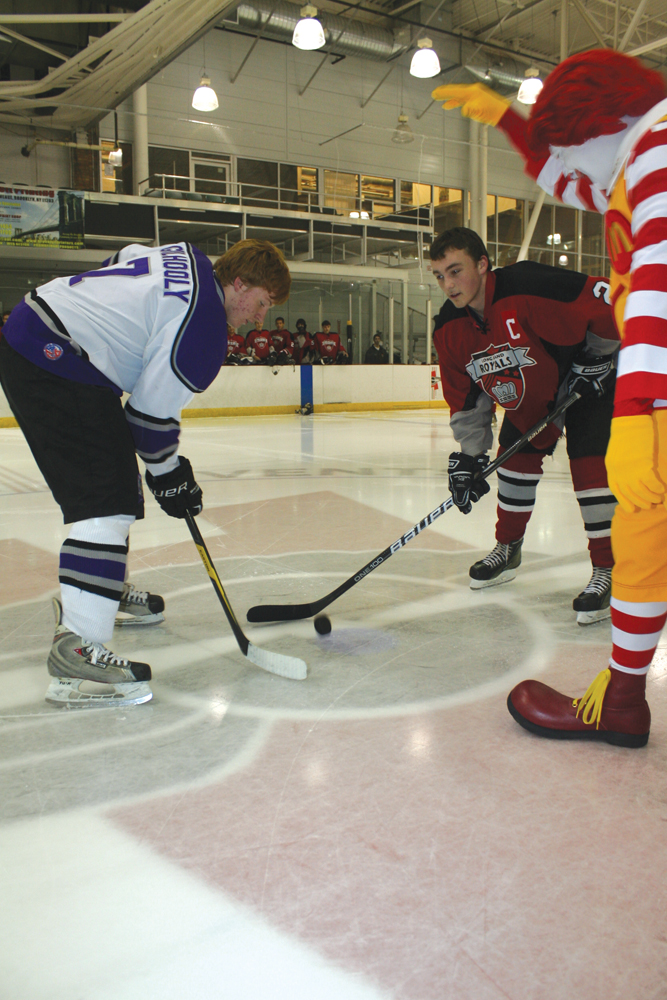 Ronald McDonald ice hockey tournament