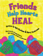 friends help heal hearts book cover
