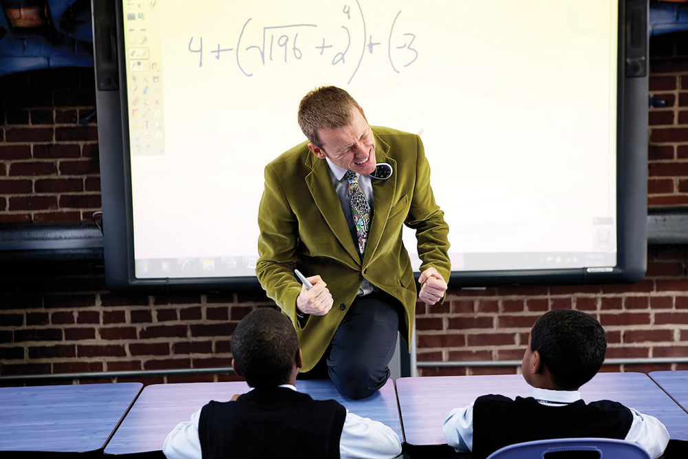 Ron Clark teaching a class