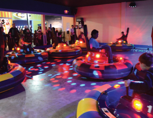 spin zone bumper cars