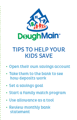 tips to help your kids save