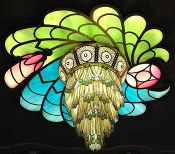 atrium chandelier