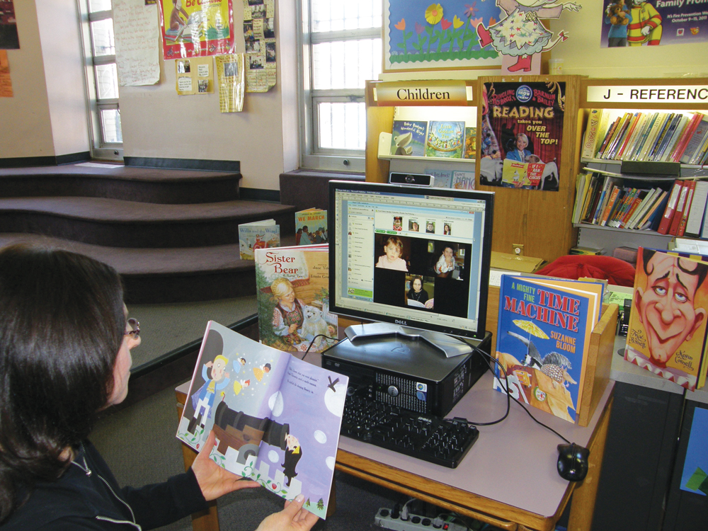 skype story time at Queens Library