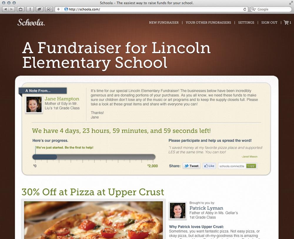 Schoola.com fundraiser