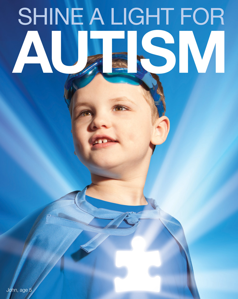 Shine a Light for Autism poster