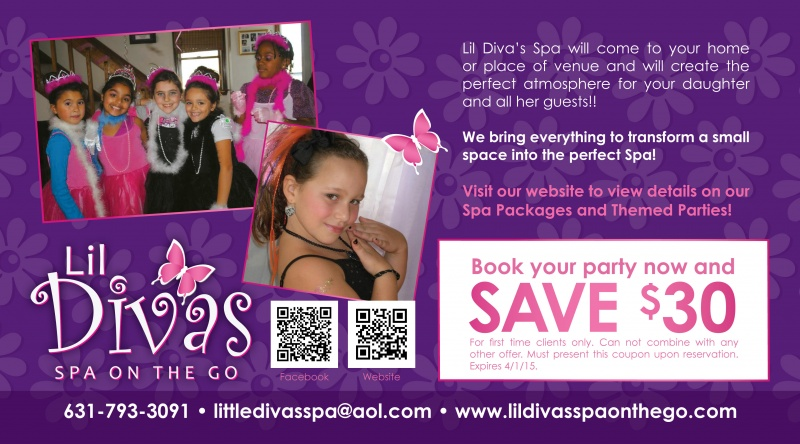 Lil Divas Spa on the Go