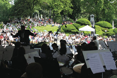 Green-Wood Cemetery Memorial Day concert
