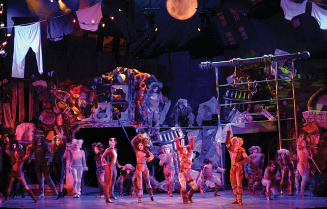 Cats the musical on broadway