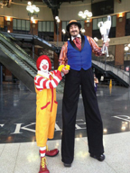 Ronald McDonald at Citi Field