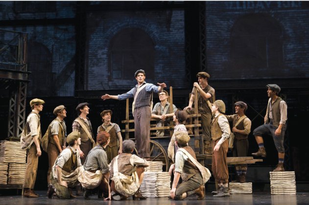 Disney's Newsies on Broadway