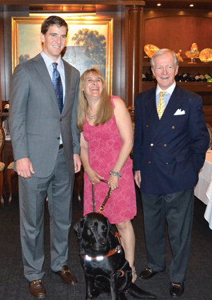 Eli Manning and Guiding Eyes for the Blind