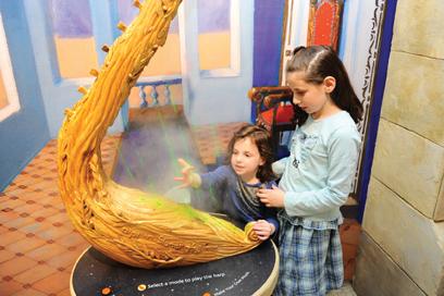 Jewish Children's Museum Jewish history exhibit