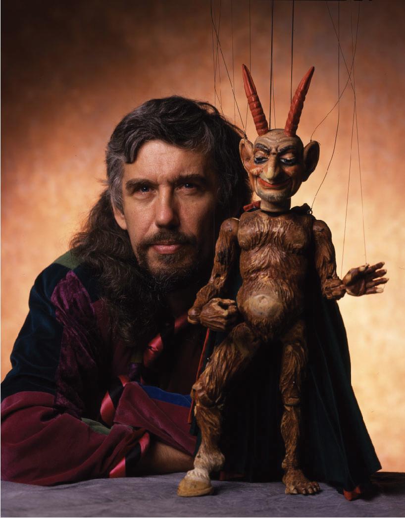 Vit Horejs of Czechoslovak-American Marionette Theatre