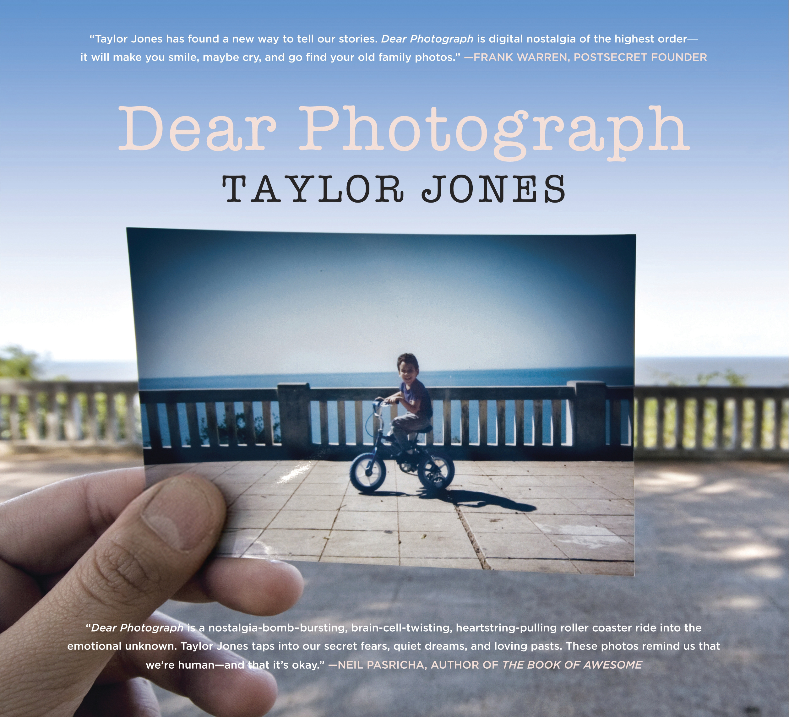 Dear Photograph Book by Taylor Jones