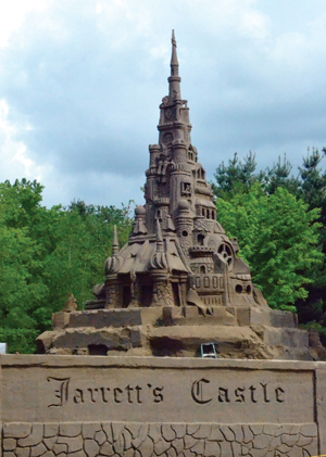Ed Jarrett Holds the Guiness World Record for Tallest Sandcastle