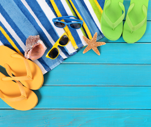 Sandals and summer items