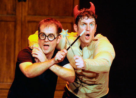 Potted Potter Off-Broadway