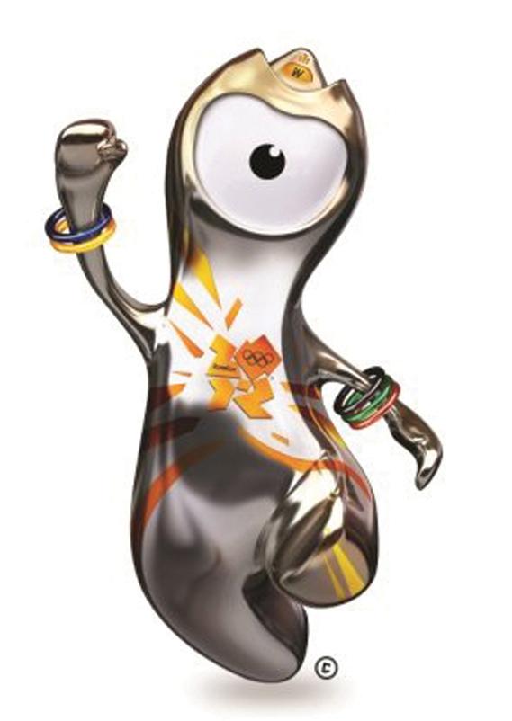 Wenlock, the Olympics mascot