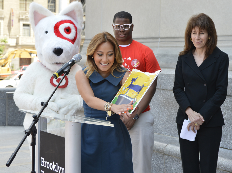 Adrienne Bailon at Brooklyn Public Library
