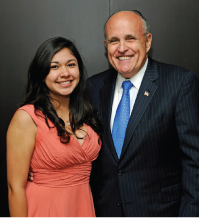 BGCNW Youth of the Year with Former NYC Mayor Giuliani