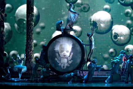 baby in Zarkana Cirque du Soleil