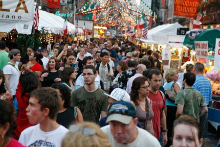 Feast of San Gennaro in NYC's Little Italy