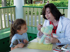 teddy bear clinic at beardsley zoo