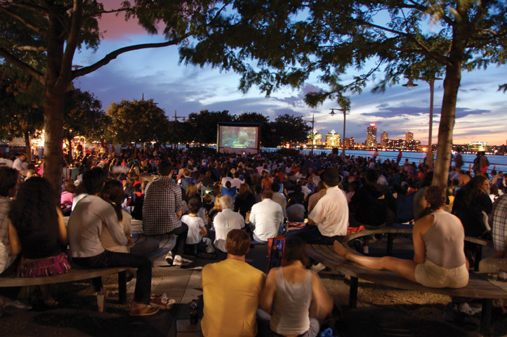 outdoor movie manhattan