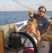 Kids Learn to Sail