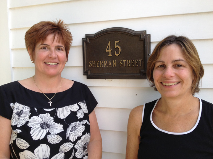 Carol Passmore and Lisa LaReau of Care To Connect