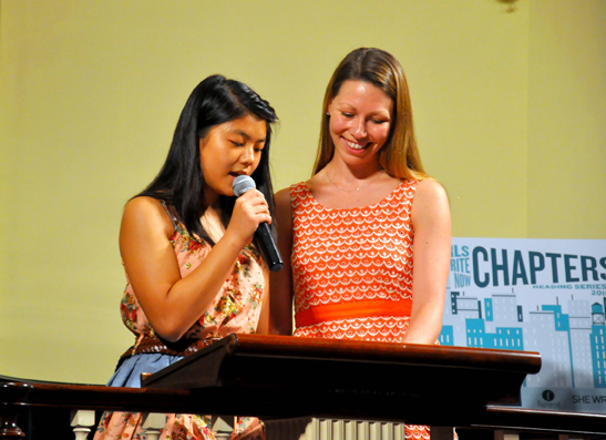Monica Chin and Elaine Stuart-Shah of Girls Write Now