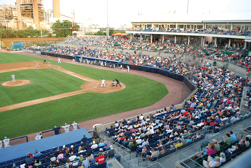 bridgeport bluefish stadium