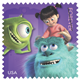 Monsters Inc US Postal Mail Stamp