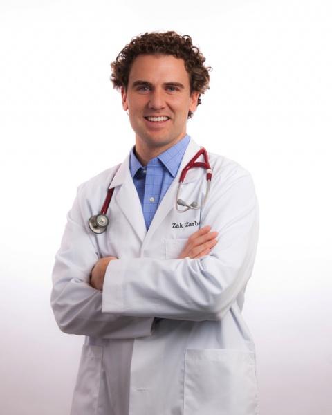 Dr. Zak Zarbock, creator of Zarbee's cough medicines
