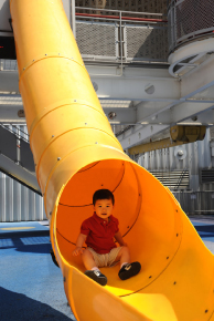 New York Hall of Science Slide