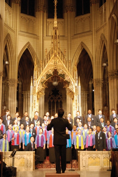 Young Peop's Chorus at St. Patrick's Cathedral