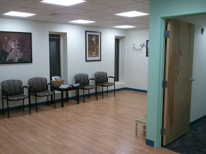 The Park Ridge Office's newly expanded waiting room