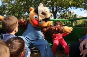 Ernie at Sesame Place