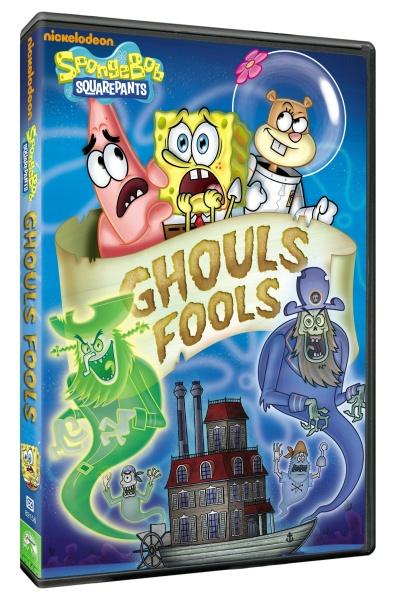 SpongeBob SquarePants Ghoul Fools DVD