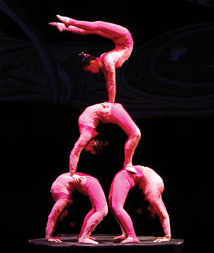 Chinese Golden Acrobats