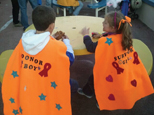 Relay for Life super boy and girl