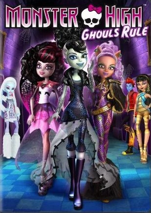 Monster High Ghouls Rule DVD